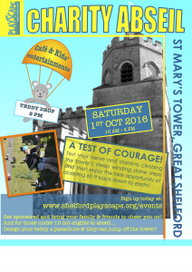 Abseil poster