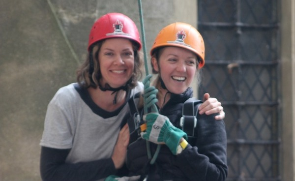 Abseil completed