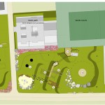 Proposed new playground area plan