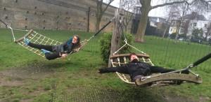 Picture of hammock swings
