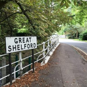 Great Shelford sign