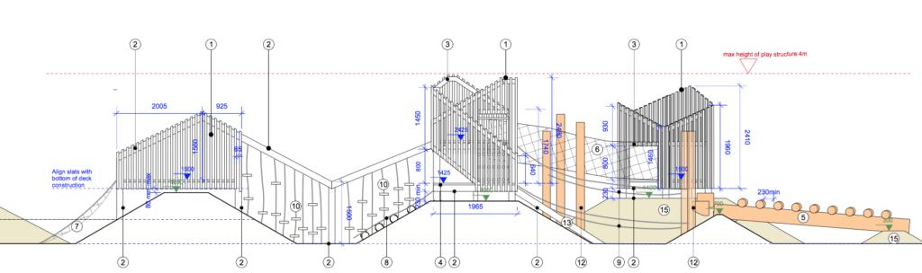 climbing frame elevation