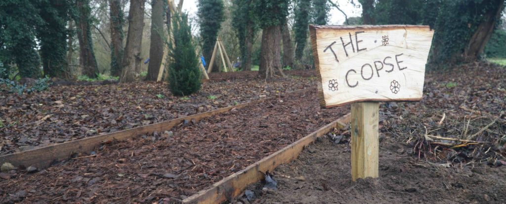 The Copse sign